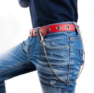 Other - Grommet Pants Trouser Belt Detachable wallet Chain
